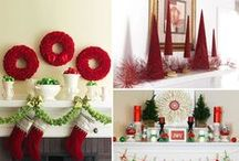 Christmas Fireplace Decor / A warm fireplace mantel always becomes the most talked about part of the holiday decorations when friends and family join together to exchange gifts, and reminisce on the year gone by. We hope these Christmas fireplace decor ideas put you in the holiday spirit and inspire you to decorate your own mantel into something truly magical.