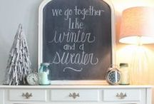Winter White Inspiration / All Things Winter White: Decor, Fashion, Interior Design, Recipes, Crafts and DIY