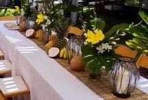 Party: Tropical / Tropical Party / Hawaiian party / Flamingo Party / Party Inspiration / party decor /beach party / festa tropical /decoração tropical / festa havaiana / Moana
