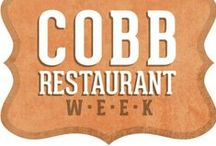 Cobb Restaurant Week 2015 / Come taste the good life and celebrate local cuisines with your favorite Cobb restaurants September 19-26! It is the perfect opportunity for food lovers to sample some of Cobb's finest local offerings with $15, $25 and $35, 3-course prix-fixe menu options. www.cobbrestaurantweek.com