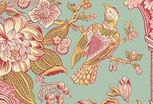 Cloverdale House by Di Ford / Cloverdale house fabrics created by Di Ford for Andover Fabrics