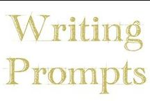 Writing Prompts / Inspiration for writing, contests, and opportunities to be featured.
