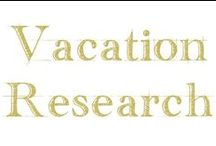 Vacation Research / Research for going to Disney World and Universal Studios - when the best time to go is and why.