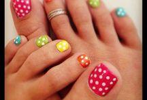 Fun Nails & Toes :-) / by Dawn Johnston