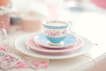 Our favorite china / We love china cups, saucers, teapots, creamers, sugar bowls...we could go on and on!