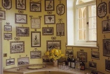 Print Room  / Modern and traditional print rooms or similar arty display.