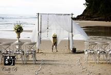 ★ S U R - L A - P L A G E / Beach Wedding