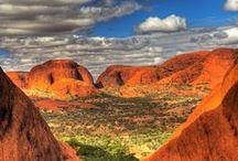 Northern Territory / With Australia's physical heart Alice Springs located in this territory you'll find Ayers rock, rainforest's, aboriginal art along with national parks a plenty.