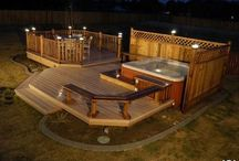 Deck outdoor summer & BBQ / by Hannah McCune