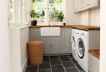 Laundry Room Love / by Katelyn - learningcreatingliving.com
