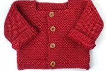 Mes modèles à tricoter & crocheter / Créations de patrons tricot et crochet