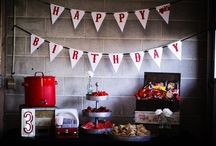 Fire Station Birthday Party