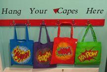 Classroom - Super Heroes / Classroom Decor Ideas / by Dawn Johnston