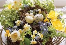 Ideoita pääsiäiseen - Ideas for Easter / Planting and decoration inspiration for Easter.