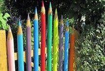 Taidetta puutarhassa - Art in the Garden / Enliven your garden with art.