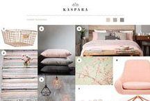 Kasparas Interiørinspirasjon / Her finner du Kasparas egne collager med interiørinspirasjon. // Here you'll find inspiration boards from Kaspara with interior inspiration.