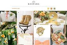 Kasparas Bryllupsinspirasjon / Her finner du Kasparas egne collager med bryllupsinspirasjon. // Here you'll find inspiration boards from Kaspara with wedding inspiration.
