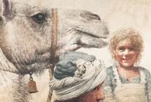Camels / About Camels and the research for Mustara and Taj and the Great Camel Trek