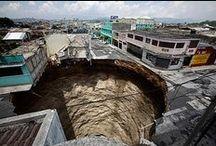 sinkholes