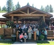 Company Events / Take a step outside the office and come here to help plan your company retreat! And if you're looking for a venue, check out ours! Great views, lots of space and outdoor excursions perfect for creating lasting memories all in one location! http://glacieroutdoorweddings.com/
