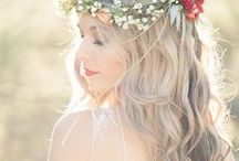 Bridal Hairstyles / Need inspiration to ensure that you have the best hair day of your life? Check out this board! And visit our website to see our venue right outside of Glacier National Park! http://glacieroutdoorweddings.com/
