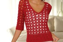 Crochet clothing ideas / by Marthelene