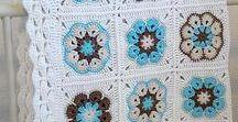 Crochet afghans: Specific named
