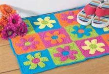 Crochet rug ideas