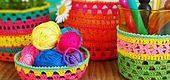 Crochet basket ideas