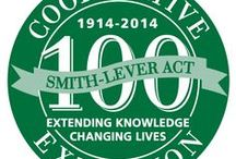 Celebrating 100 Years —- Extension's Centennial / The 100-year anniversary of the signing of the Smith-Lever Act of 1914 which officially created the national Cooperative Extension System will take place in 2014. This celebration will highlight Extension's past and focus on the contemporary application of Extension's transformational educational programming into the future.