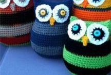 Crochet owl theme ideas