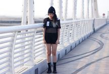 Blog / Some of the outfits from my personal blog, REBEL.REBEL.   To see more, visit www.rebelrebel.co x