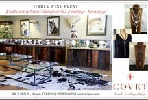 Events / Trunk Shows, SALES...all the fun stuff
