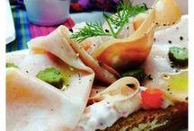 Tostas deliciosas / Comida de picoteo, meriendas especiales, platos fáciles para fiestas, pintxos, canapés y desayunos especiales.