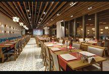 12 ocakbası bayraklı tower / Mimari, restaurant,ocakbaşı,restaurant design