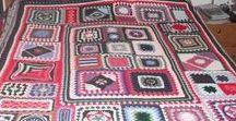 Crochet afghans: Sampler blankets