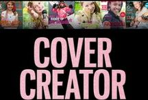 Discovery Girl's Cover Creator app