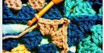 Crochet afghans: How to join squares