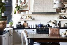 • where all the magic happens • / Kitchens