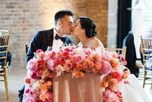 Real Weddings - Reception / One of a kind Wedding Space. Where modern meets rustic.
