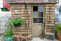 Sheds and tiny dwellings ! / Spring is almost here! I love gardening and I love sheds!
