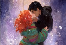 """""""Eleanor & Park"""" fan art & other awesomeness / Amazing artwork and other beautiful stuff created by people who read my book, """"Eleanor & Park."""""""