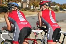 Ladies Padded Cycling Shorts / With a pair of Ladies Padded Cycling Shorts the next time you hop on your bike with the knowledge that whether mountain biking, recreational riding or touring (even spinning) you will have a more comfortable riding experience.