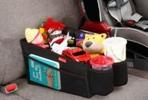 Car Organizers for Kids / They will hardy even notice the time flying by as they play with items from these car organizers for kids. Keeps your children occupied when travelling and the car tidy.