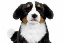 Realistic Stuffed Dogs / If you do not have a dog but want a pet then why not get some realistic stuffed dogs to play with.