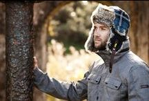Trapper Hats for Men / Trapper hats for Men keep your head and ears warm during cold weather with styles featuring leather, faux fur, rabbit fur or sheepskin.