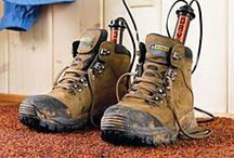 Boot and Glove Dryer / Wet footwear is no fun, so if you are active outdoors you need a boot and glove dryer. Especially great for skiers and hikers.