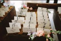 Real Weddings - Details / Decor & Details from Past Weddings at The Roundhouse