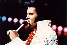 Elvis Presley Jumpsuit / Yes they are outlandish with their glitter, fancy belts and vibrant color but fans love these Elvis Presley Jumpsuits.