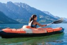 Best Selling Inflatable Kayaks / The best selling inflatable kayaks are a great alternative to hard shell kayaks and they are very portable and affordable whether for recreational use or trips along the sea or a river.